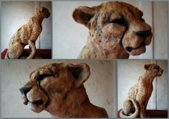 katyveline, sculptures, animalières