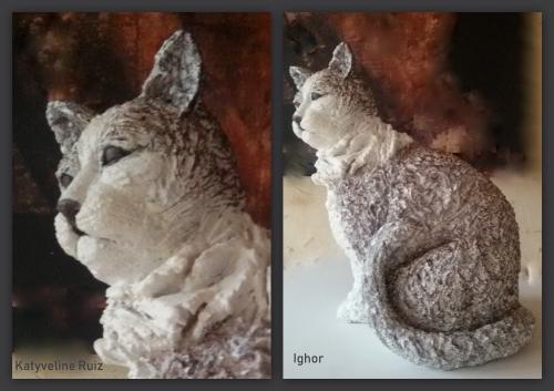 sculpteur,sculpteur animalier,katyveline,katyveline ruiz sculpteur