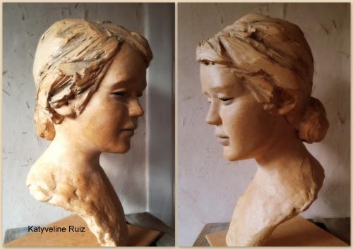 katyveline Ruiz, sculpteur, Katyveline