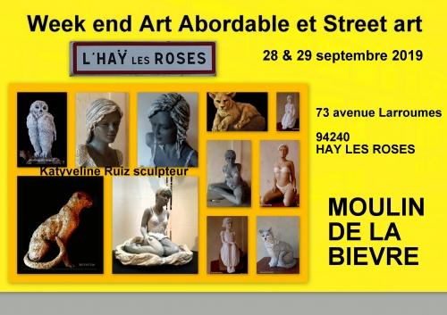 EXPOSITION, Katyveline, sculpteur, katyveline Ruiz