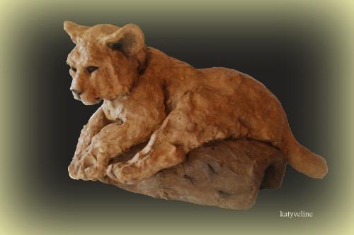 katyveline,sculpteur animalier